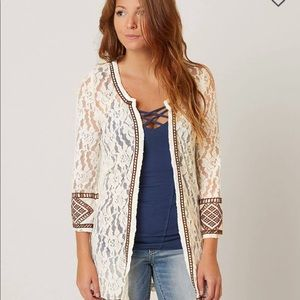 Gimmicks, BUCKLE EXCLUSIVE Lace Cardigan